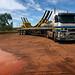 hauling mining freight, dampier, wetern australia 2012