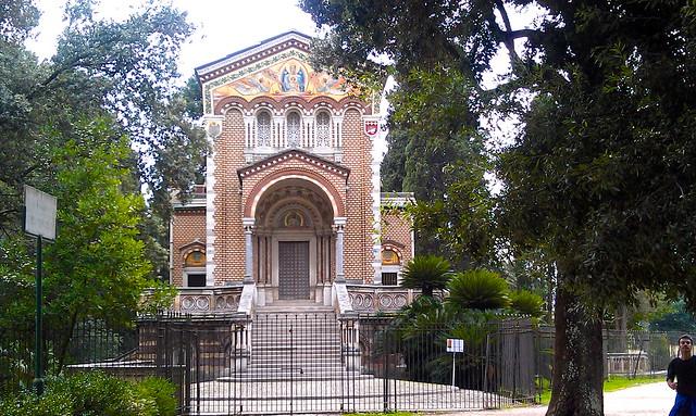 Härlig kapellet i Villa