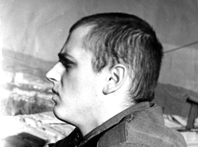 В армии на крыше Арсенала - Авлабар 1970 год