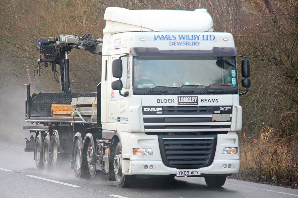 DAF XF James Wilby Ltd YK09 WCY | Flickr - Photo Sharing!