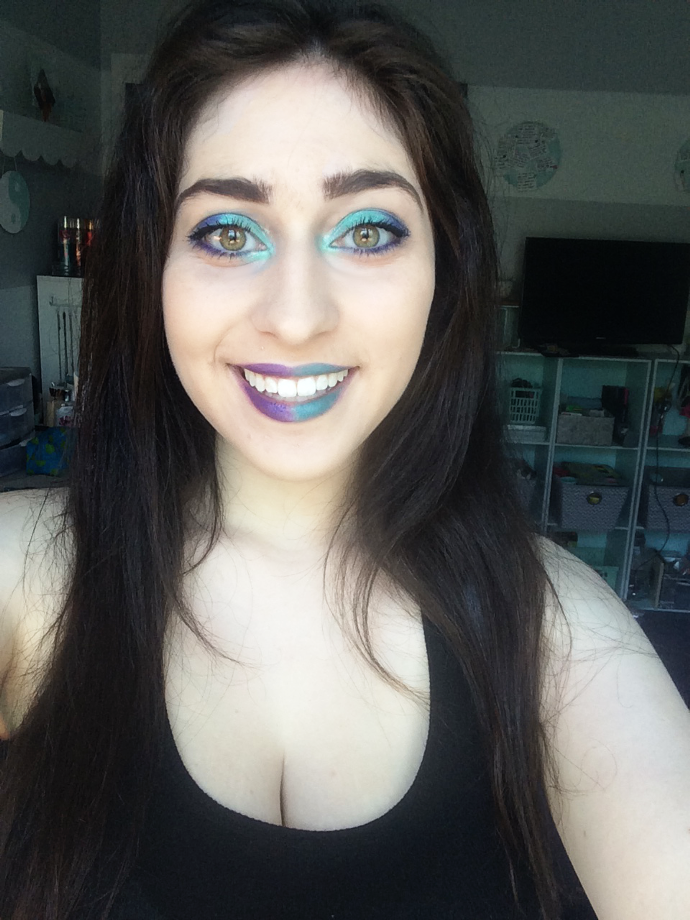 Colorful Jewel Tone Makeup + The Perfect Matte Face ft. Rimmel // ew & pt