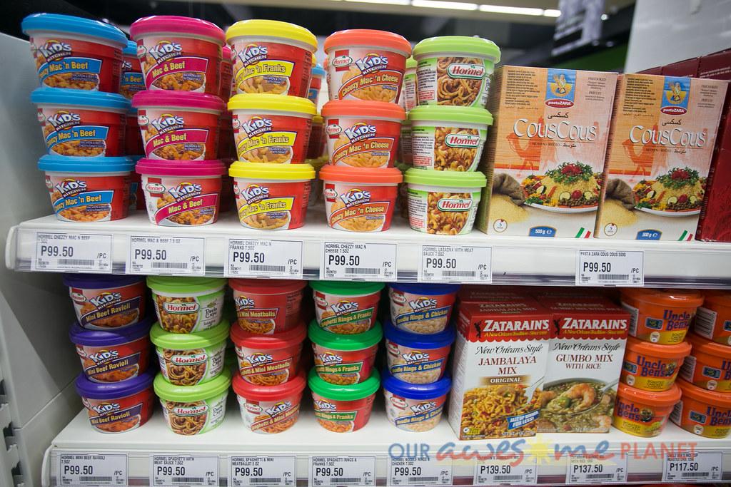 New World Foods List