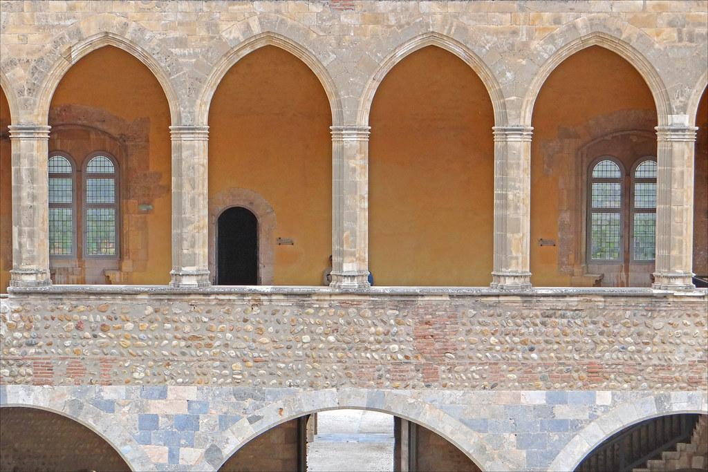 Le palais des rois de majorque perpignan galerie arcat flickr - Palais des rois de majorque perpignan ...
