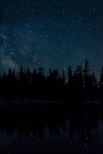 Milky Way above Lake Melakwa | by zh3nya