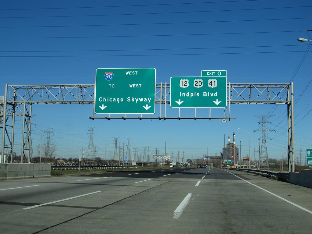 Chicago Skyway Interstate 90 Chicago Illinois  The