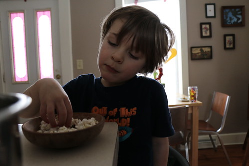 afternoon popcorn