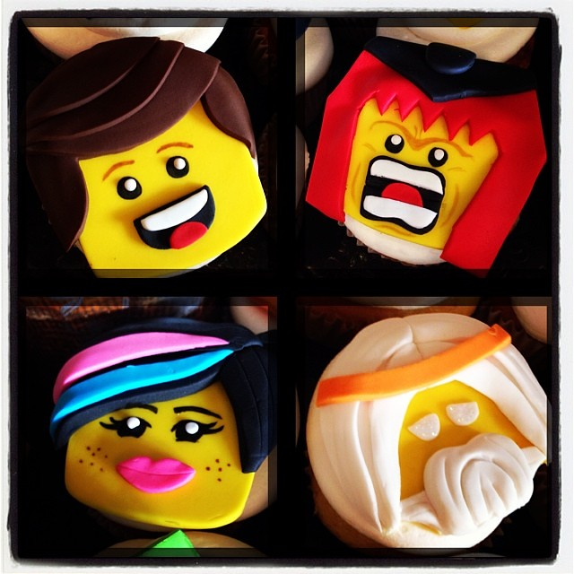 lego movie cupcakes