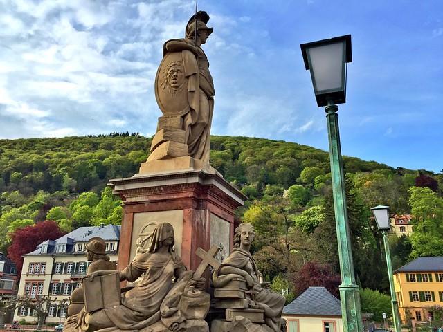 Puente antiguo de Heidelberg (Alemania)