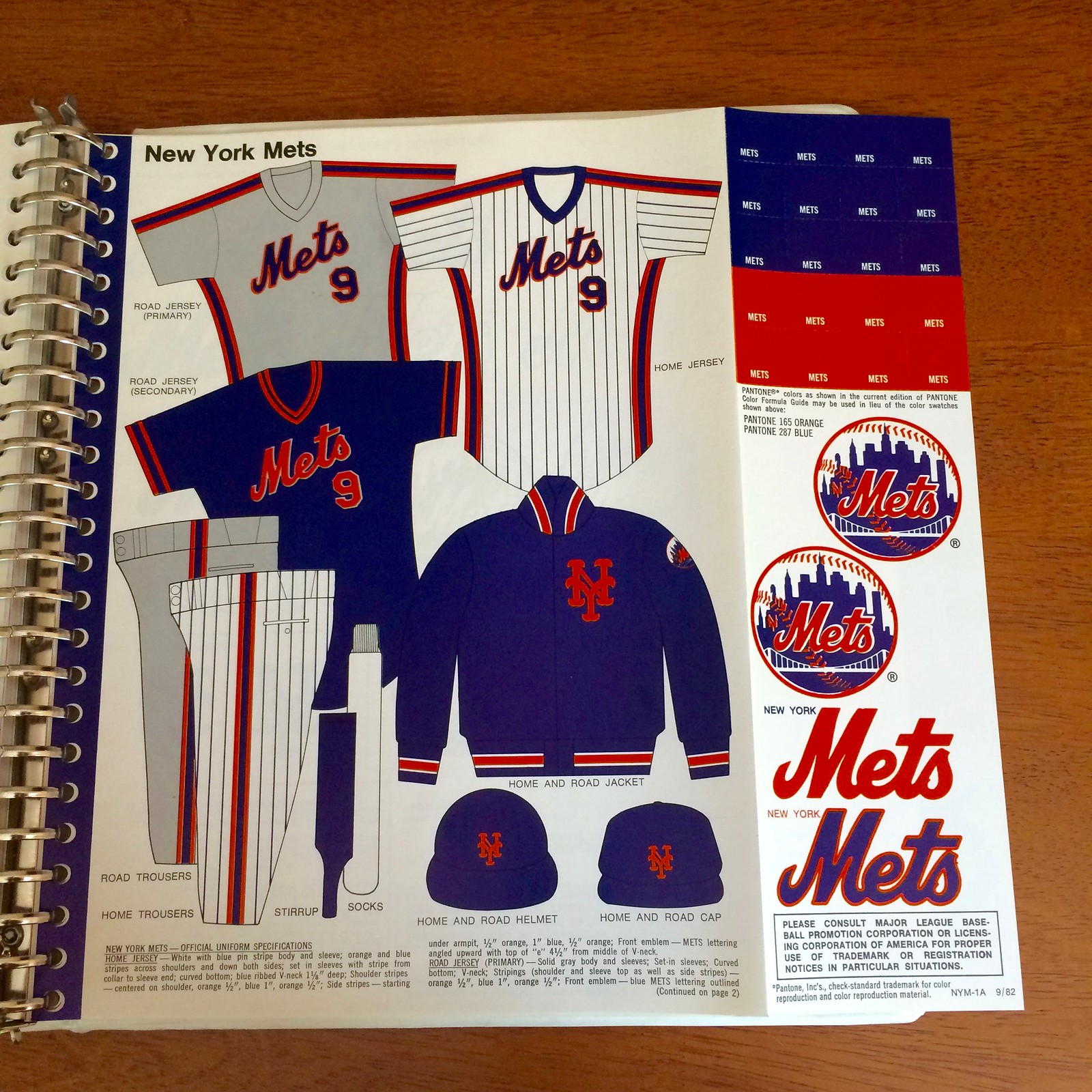 91b4cb8b575e The style guide shows yet another variation — a blue road jersey with  orange grey typography and orange blue trim on the sleeves and collar
