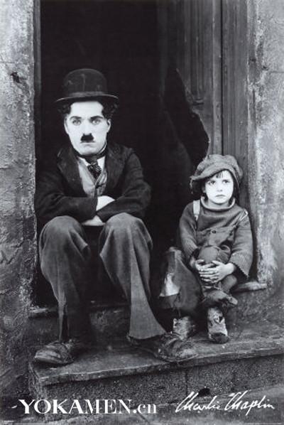 Charlie Chaplin silent film stills