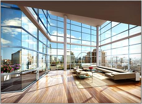 Interior view of steve ross 740 park avenue apartment for 740 park avenue apartment for sale