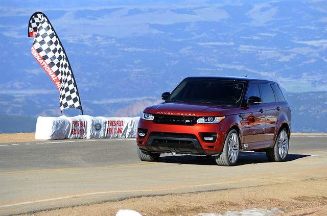 all new range rover sport sets pikes peak hill climb record flickr photo sharing. Black Bedroom Furniture Sets. Home Design Ideas