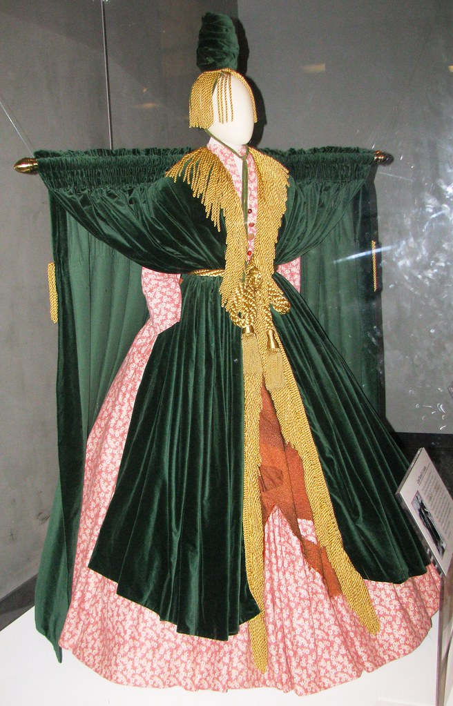 Nmah229 Carol Burnett 39 S Costume 39 39 Curtain Dress 39 39 From