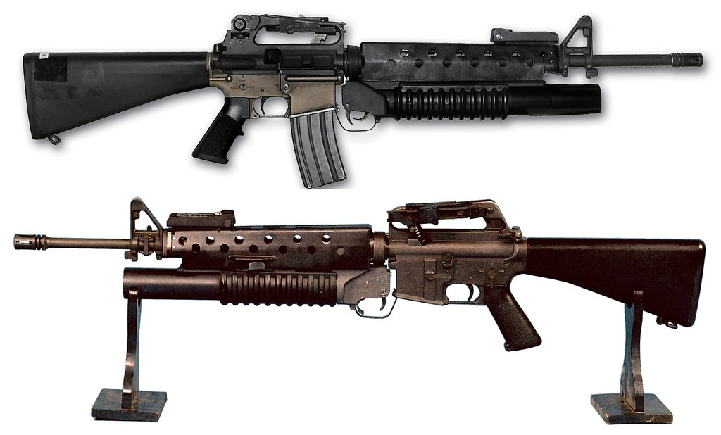 M16 with Heat Shield a...