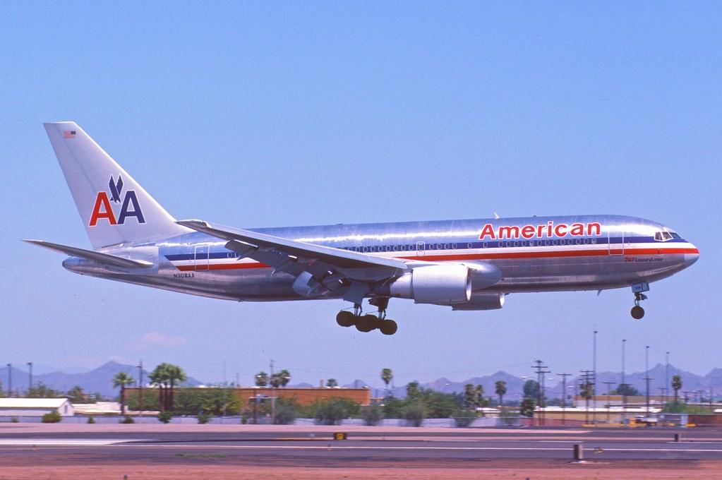 American Airlines Boeing 767-200; N308AA, August 1985 | Flickr