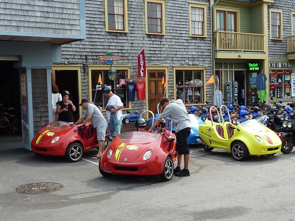 very popular rental scooter cars  newport  ri