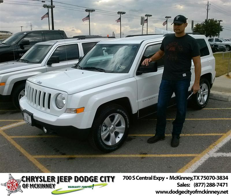 Dodge City Of Mckinney >> Thank you to Anthony Wax on your new 2014 #Jeep #Patriot f… | Flickr