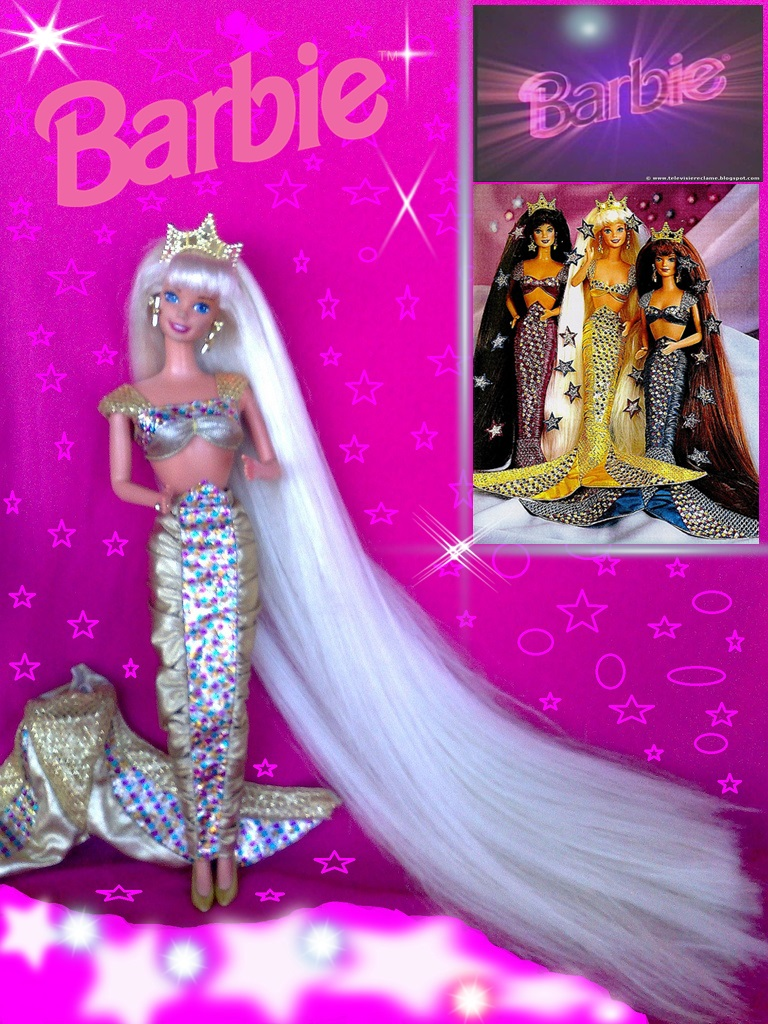 Jewel hair sirene barbie 1995 zoran jan flickr - Barbie barbie sirene ...