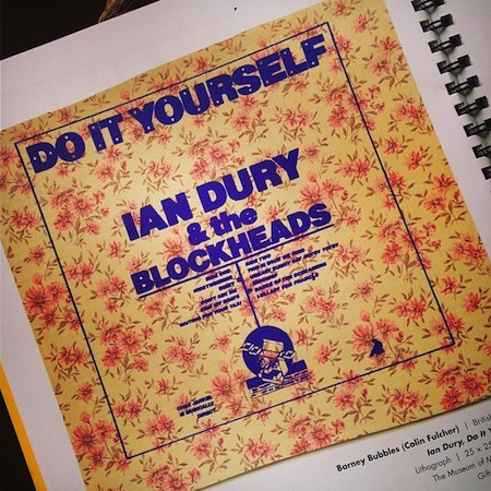Reasons to be cheerful do it yourself c22b7a3a9fbf11e38cd51230a836f0f78 litho print of variant of front cover design for do it yourself by ian dury solutioingenieria Choice Image