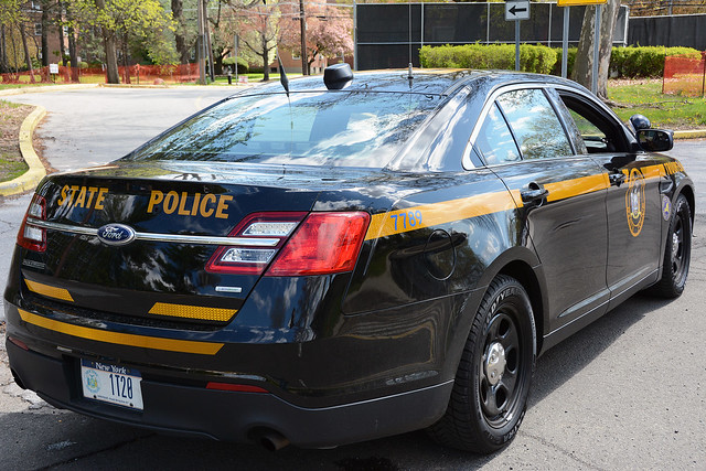 Picture Of New York State Trooper Car (1T20) - 2014 Ford Taurus Police Interceptor. This Car ...
