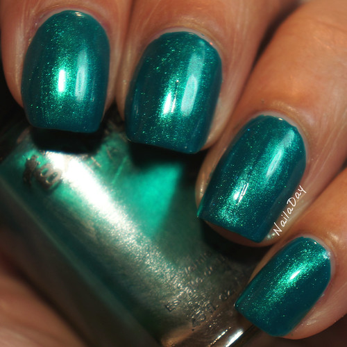 NailaDay: Barielle End of the Rainbow over Barielle A Bouquet for Ava
