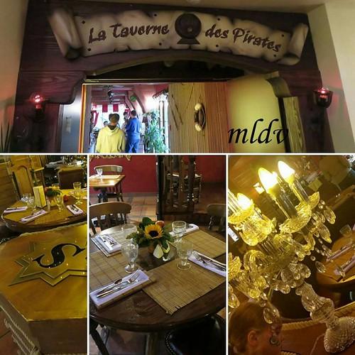restaurant hôtel des pirates