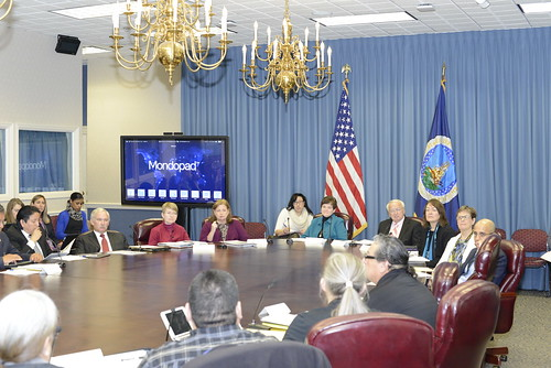 USDA and Tribal leaders meeting for nutrition programs in Indian Country