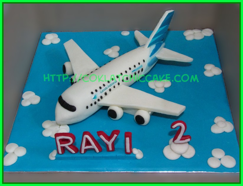 Cake Pesawat