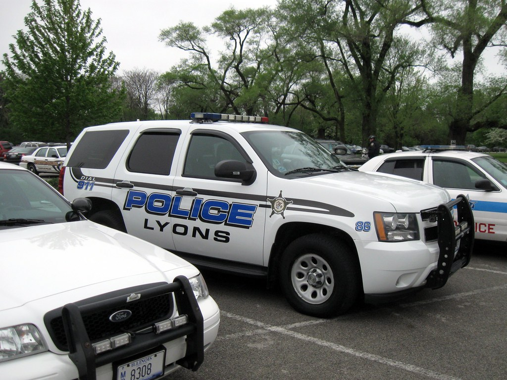 il lyons police department car 86 inventorchris flickr. Black Bedroom Furniture Sets. Home Design Ideas