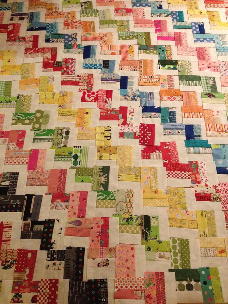 Hello Zig Zag Quilt Pattern : Zig Zag Rail Fence Quilt AngPiggy Flickr