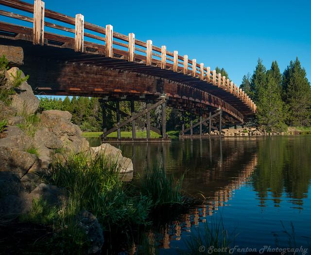 Sunriver Bridge Central Oregon Flickr Photo Sharing
