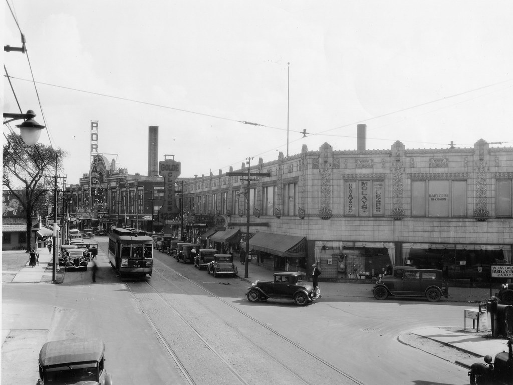 Milwaukee & Belle Plaine in 1930s