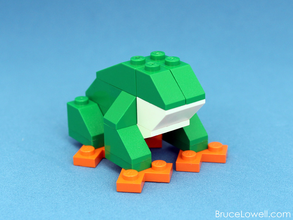 Lego Tree Frog Kit This Is A Commissioned Kit I Made For