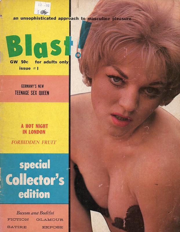 Blast! #1 Vingage Men's Mag