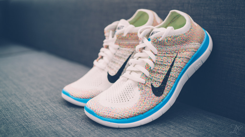 huge selection of b02cb 4adf1 nike flyknit 4.0 multicolor