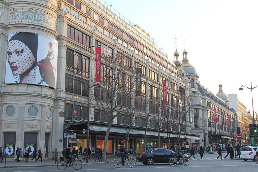 Boulevard Haussmann Paris France Boulevard Haussmann