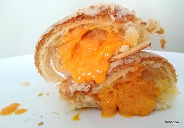 Molten Salted Egg Yolk Croissant