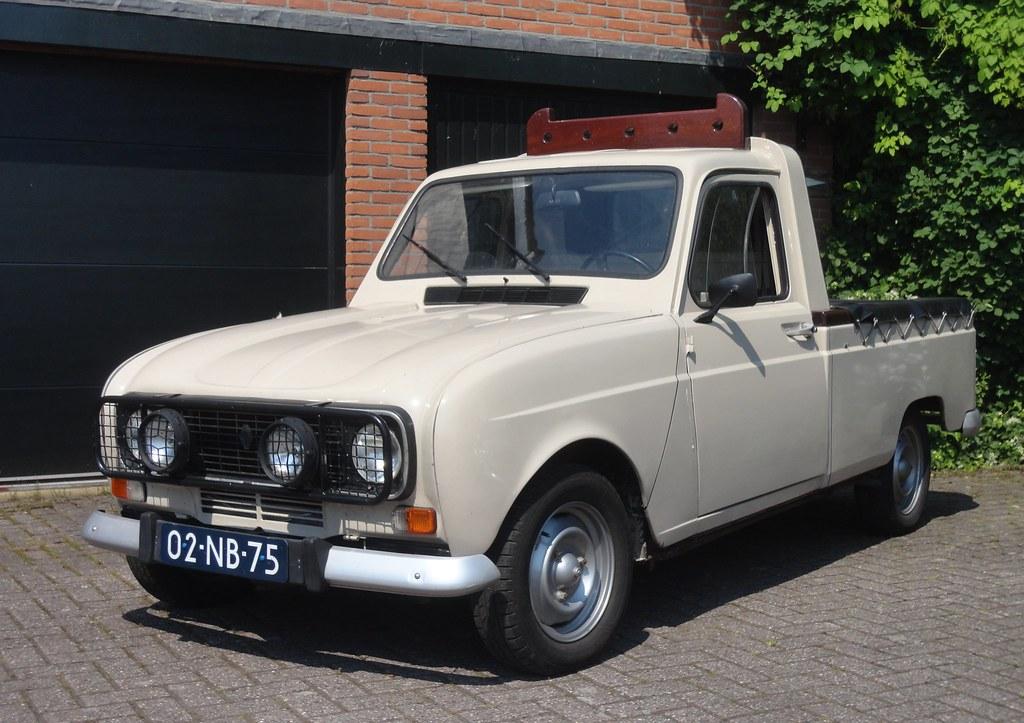 renault 4 pickup teilhol 16 11 1979 02 nb 75 renault class flickr. Black Bedroom Furniture Sets. Home Design Ideas