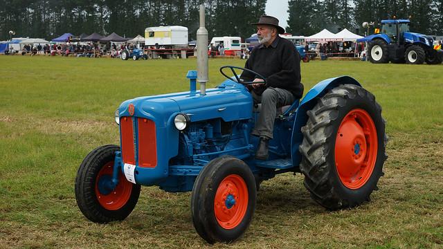 1961 Fordson Dexta Tractor : Fordson dexta tractor mid canterbury vintage