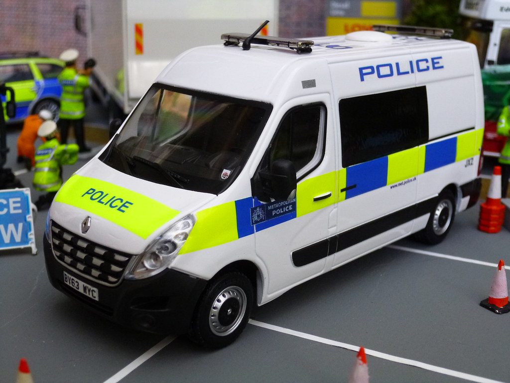 Mikes Used Cars >> 1/43 Code 3 Met Police Commercial Vehicle Unit Model At A … | Flickr