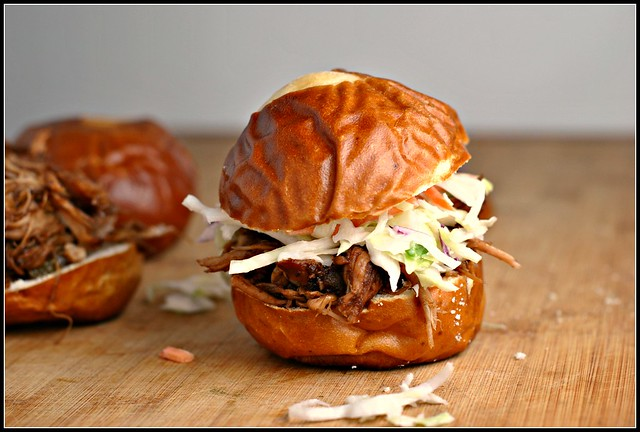 Balsamic Vinegar and Honey Pulled Pork Sliders 2