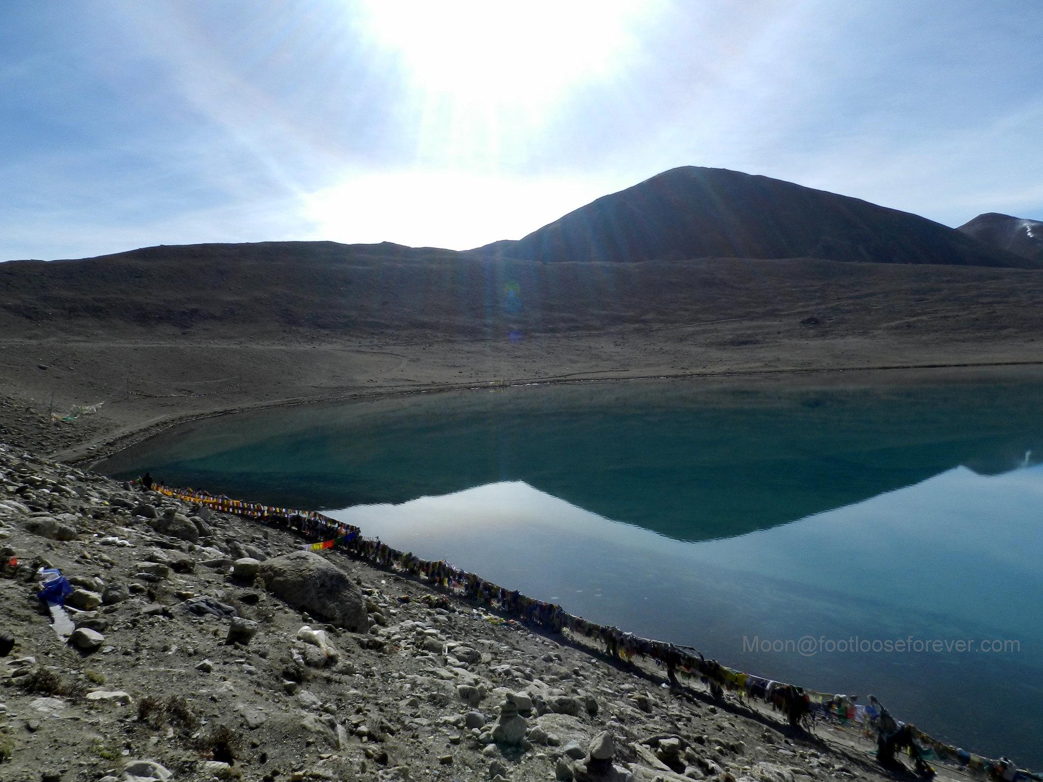 gurudongmar, holy lake, north sikkim, himalayas