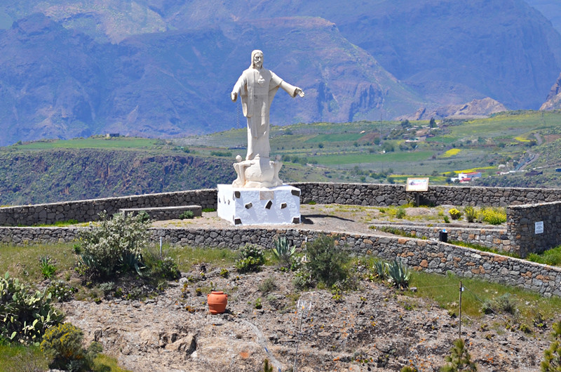 Christ the Redeemer, Artenara, Gran Canaria