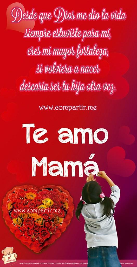 All Sizes Frases De Amor Bella Tarjeta Con Frase De Una Hija Para