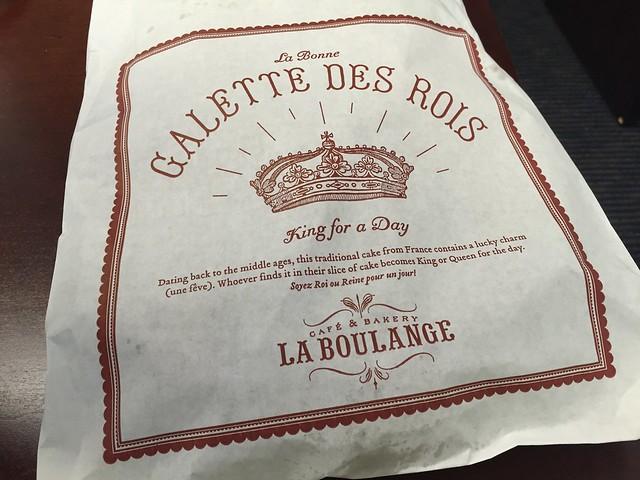 Galette des rois - La Boulange de Market