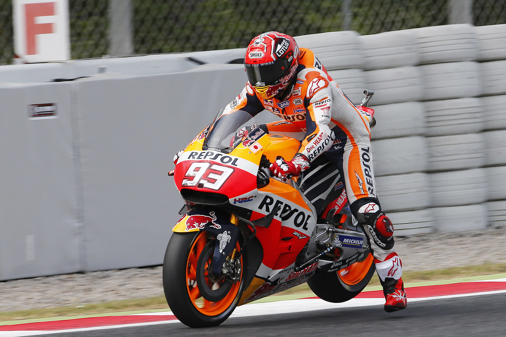 Marc Márquez. GP de Catalunya 2016. MotoGP. | Box Repsol | Flickr