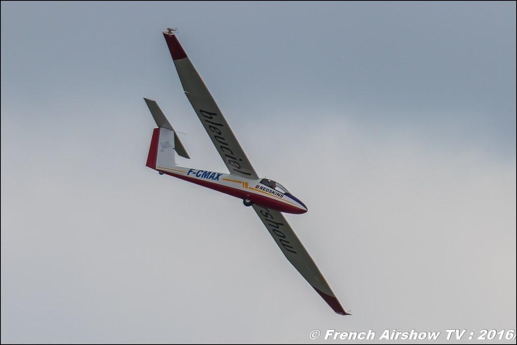 PILATUS B4 F-CMAX , BleuCiel Airshow , Denis HARTMANN ,Meeting de l'air BA-702 Avord , Meeting Aerien Avord 2016 , FOSA , Armée de l'air , Canon Reflex , EOS System