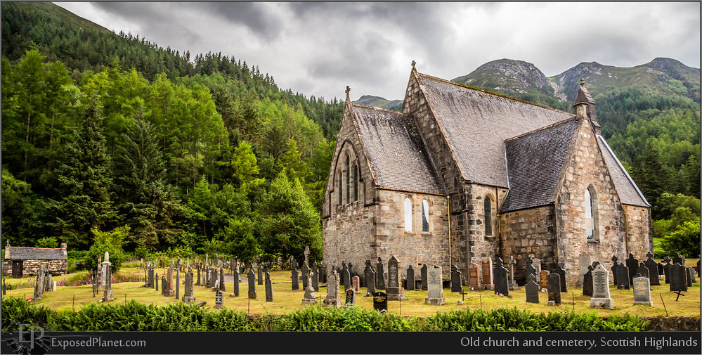 Old Church And Cemetery Scottish Highlands Www