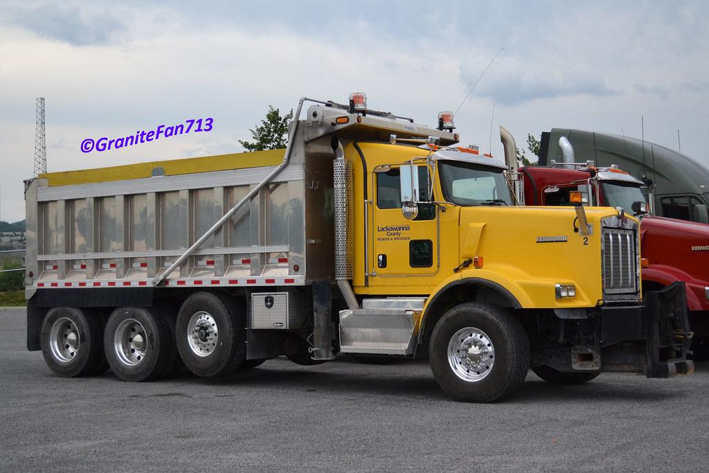 Kenworth T800 FEPTO Tri-Axle Plow Truck   Trucks, Buses ...