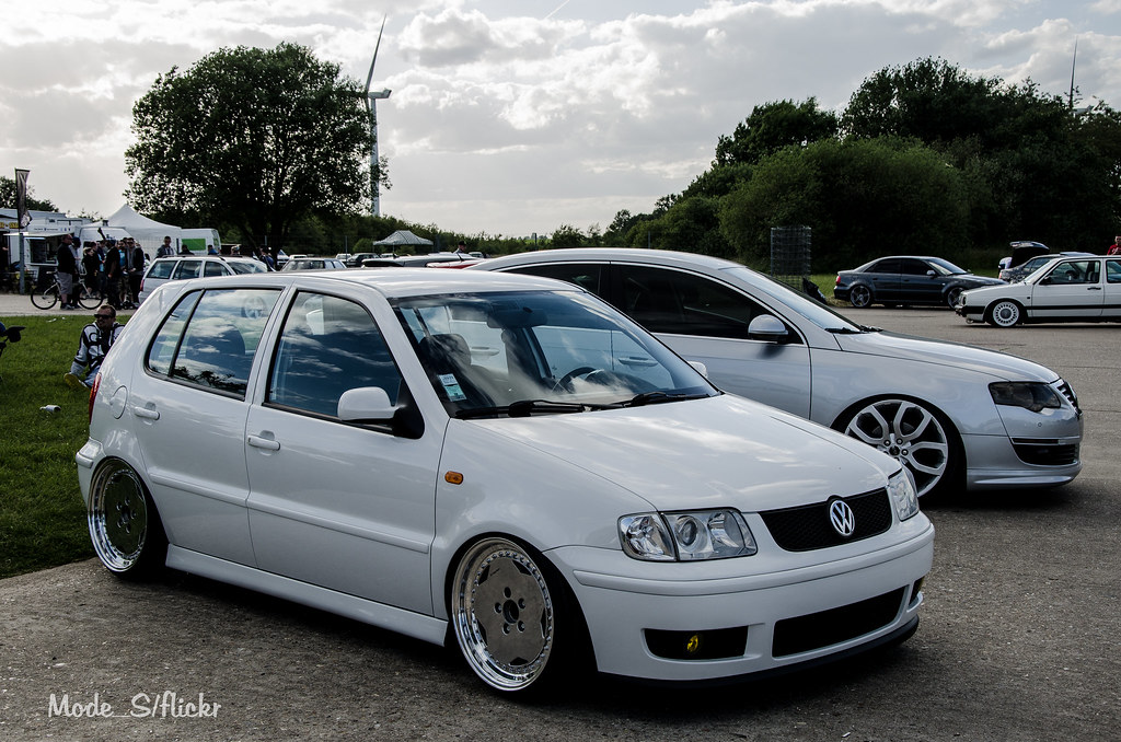 Volkswagen Polo Mk3 additionally Historia Del Volkswagen Polo Un Grande furthermore VW Transporter T5 Recto Body Kit besides Stanced Vw Polo also Vw Polo 6n. on modified vw polo 6n2